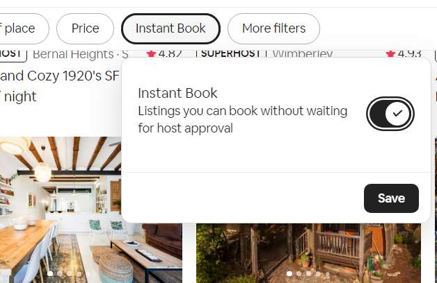 Instant booking - Recommended for Airbnb hosts
