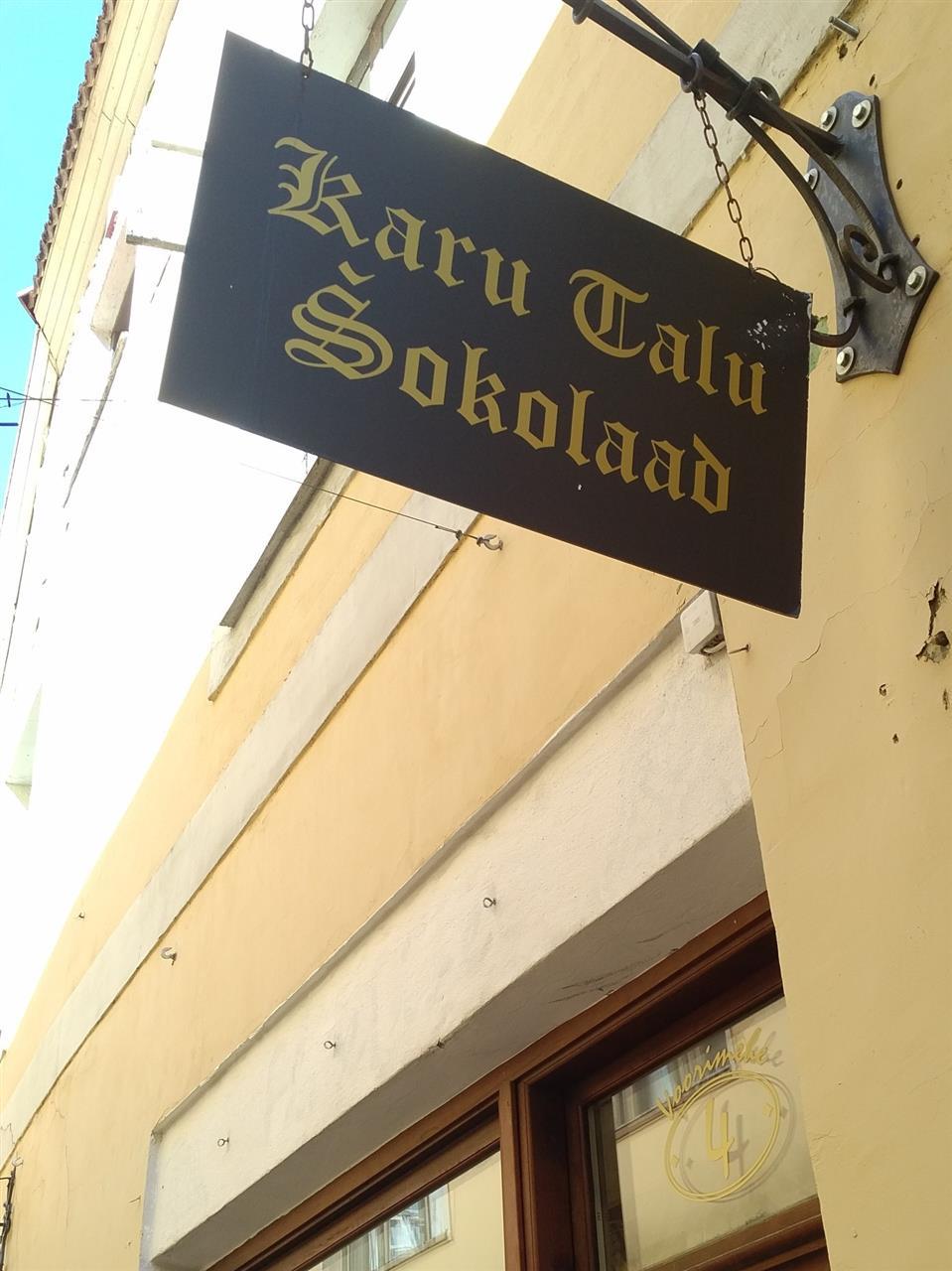 Karu talu šokolaad - Vegan chocolate in Tallinn