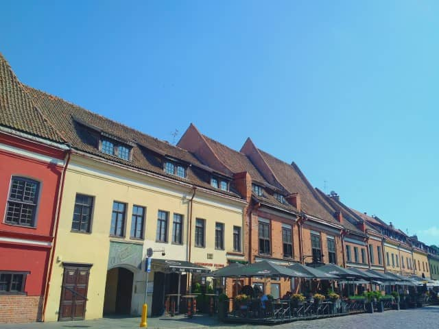 Kaunas Lithuania Old Town