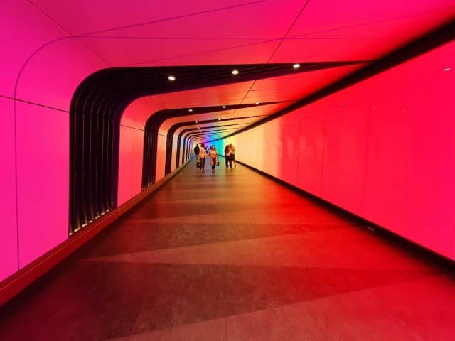 Kings Cross Light Tunnel - London hidden gems