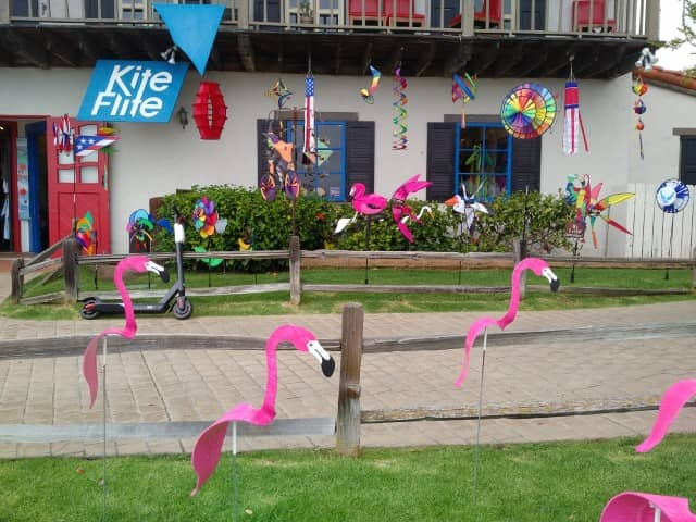 Kite shop in Seaport Village