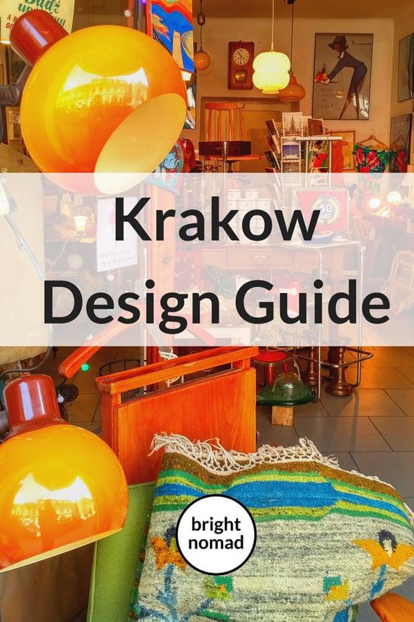 Krakow Design Guide - Travel guide for design lovers