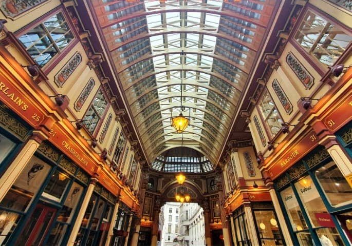 London hidden gems - Leadenhall Market