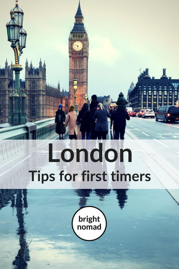 London tips for first time visitors