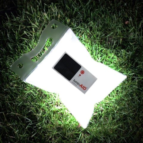LuminAID Solar Inflatable Light - Backpakers travel gadget
