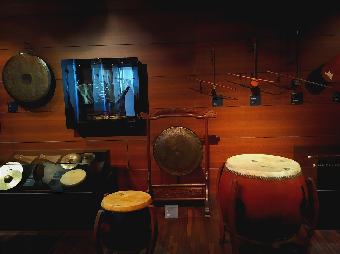 Chinese instruments at the MIM