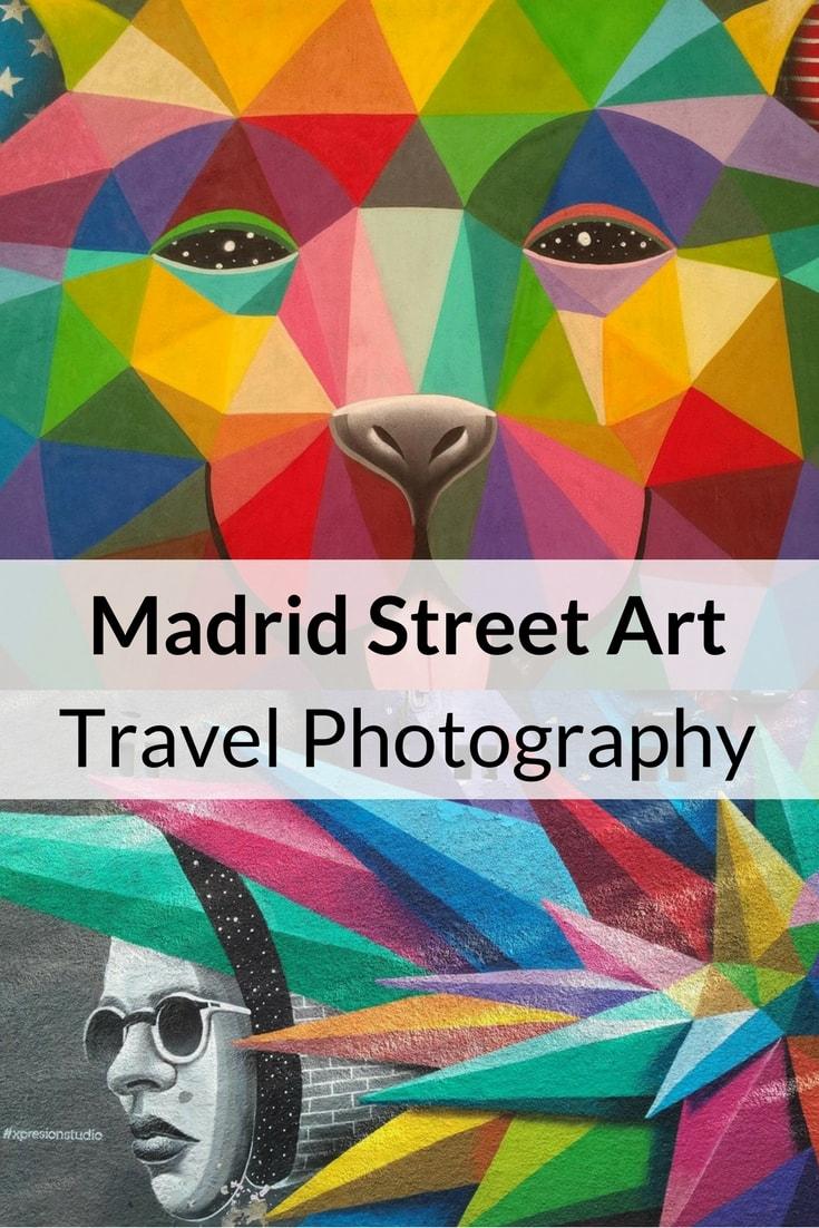 Madrid Street Art Travel Photography