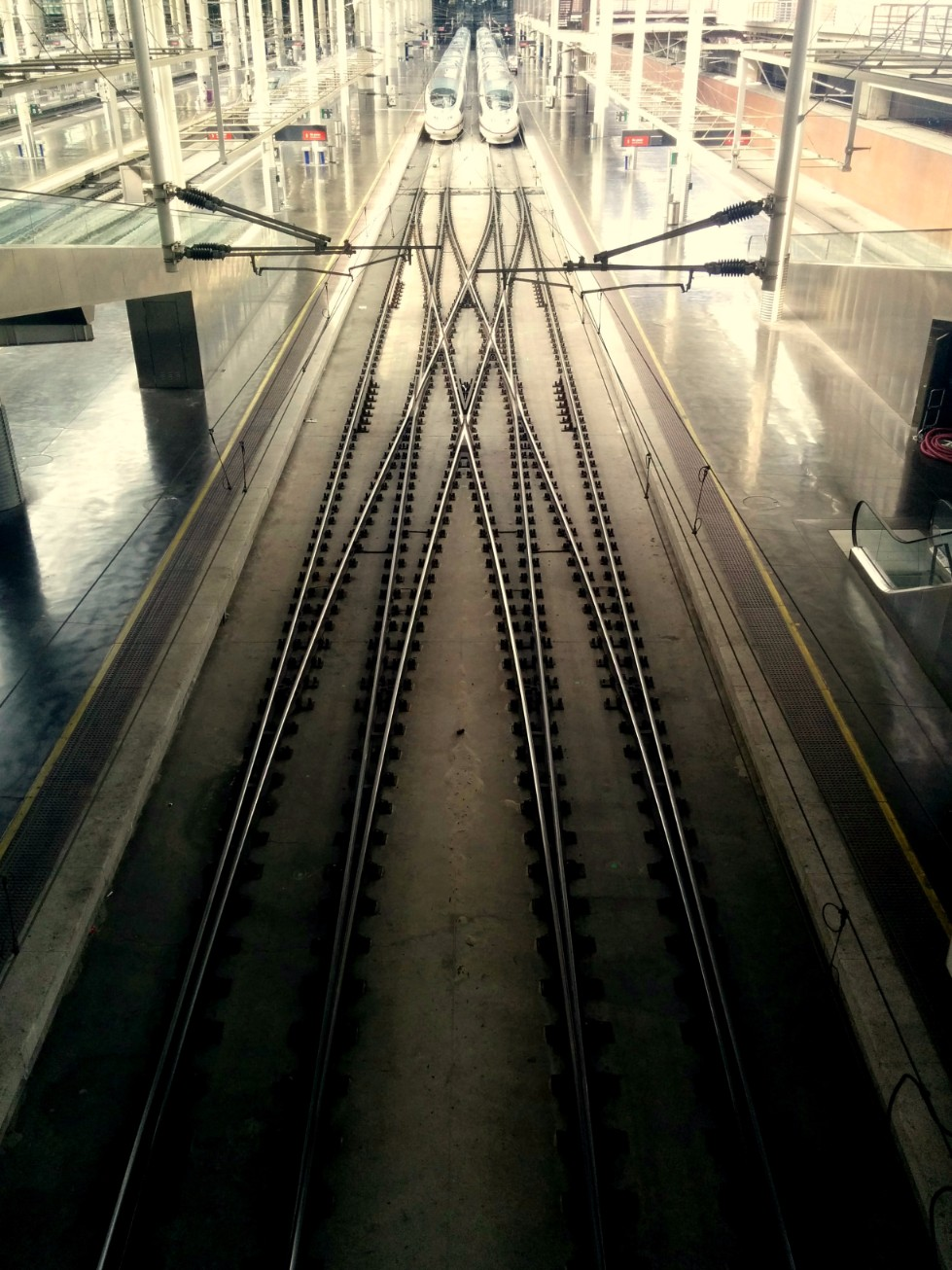 Train Station Madrid Spain