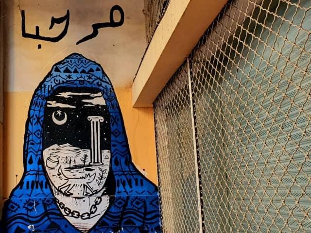 Marhaba - Political street art in Athens