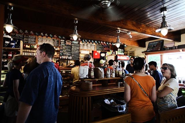 Meetup in a bar