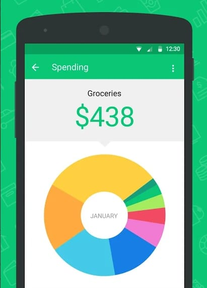 Mint Screenshot - Keep track of your expenses when you travel