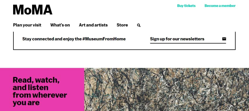 MoMA - The Museum of Modern Art - online exhibitions
