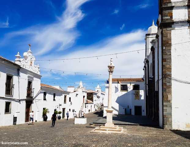 Monsaraz village in Portugal