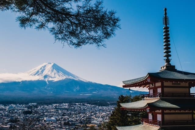 Mount Fuji virtual tour