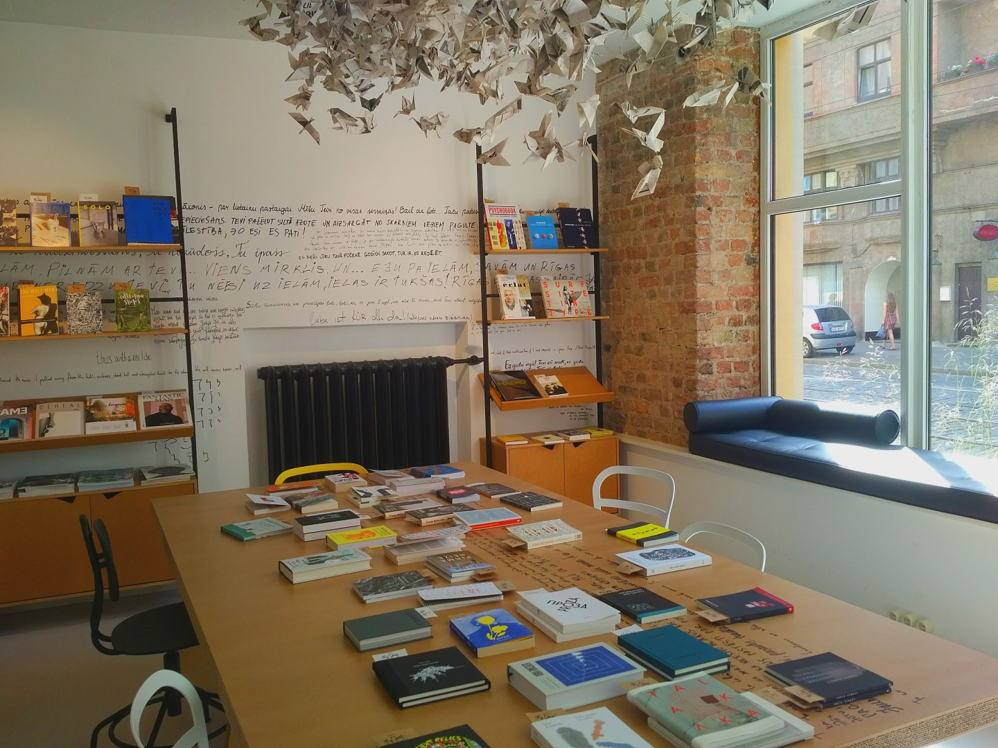 Riga Alternative City Guide - Mr Page bookshop