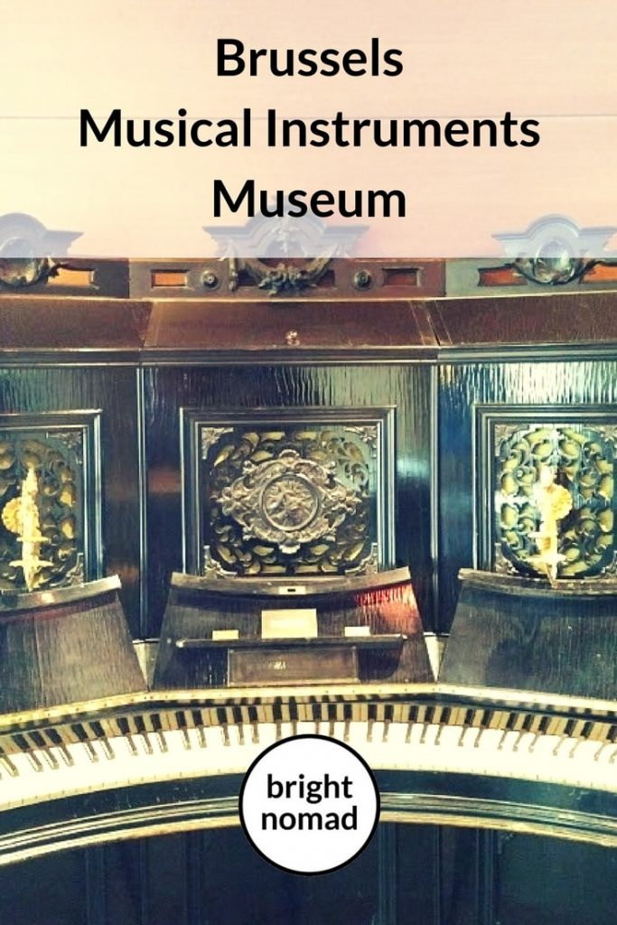 Musical Instruments Museum in Brussels