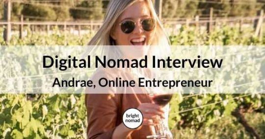 Online Entrepreneur Digital Nomad Interview