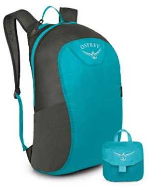 Osprey daypack - packing for Europe