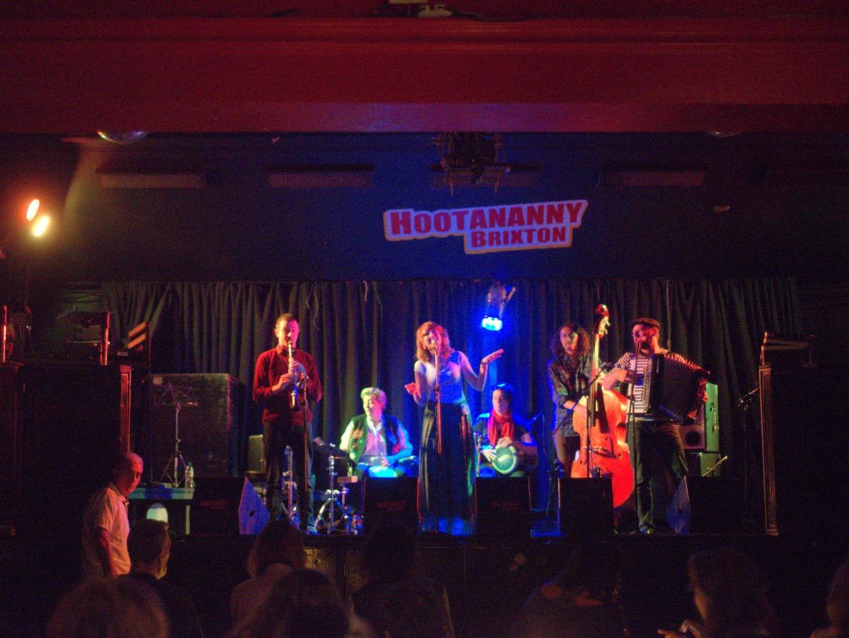 World Music in London - Oysland playing Balkan music at Hootananny
