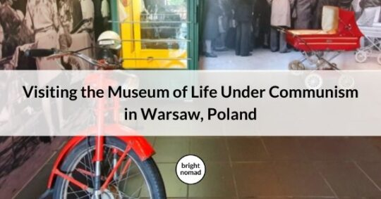Museum of Life Under Communism in Warsaw Poland