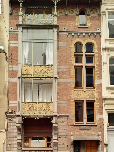 Art Nouveau in Brussels - Paul Hangar's House