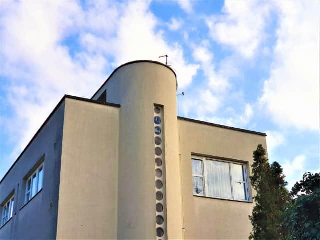 Petrák Villa - international style architecture in Brno