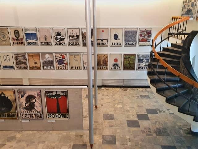 Polish poster design museum Warsaw