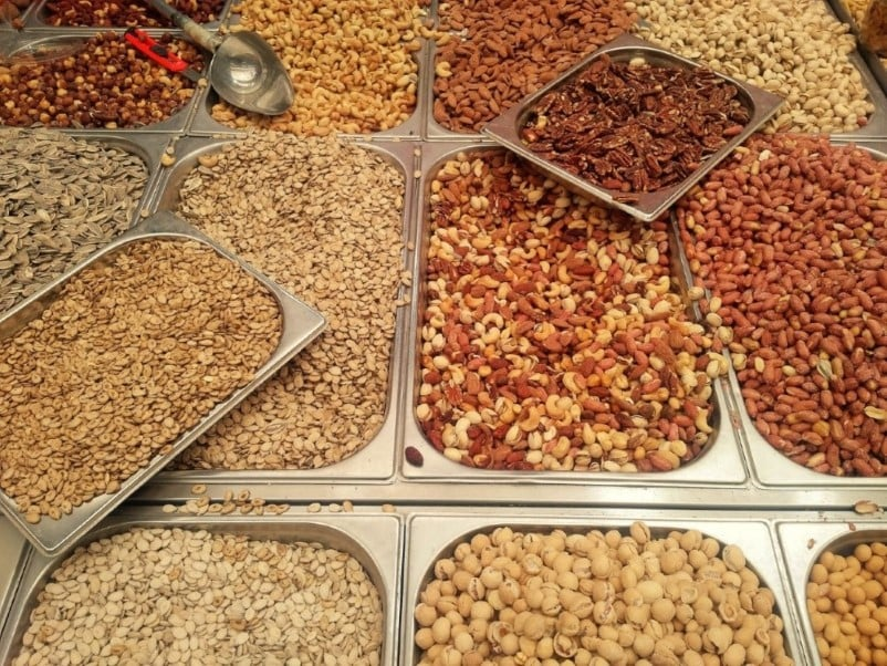 Ramla Market - nuts and spices