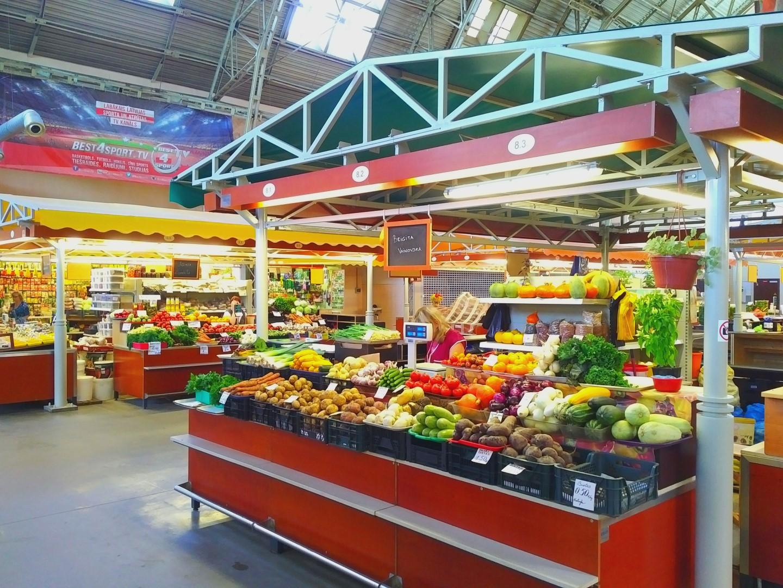 Vegan Riga Riga Central Market