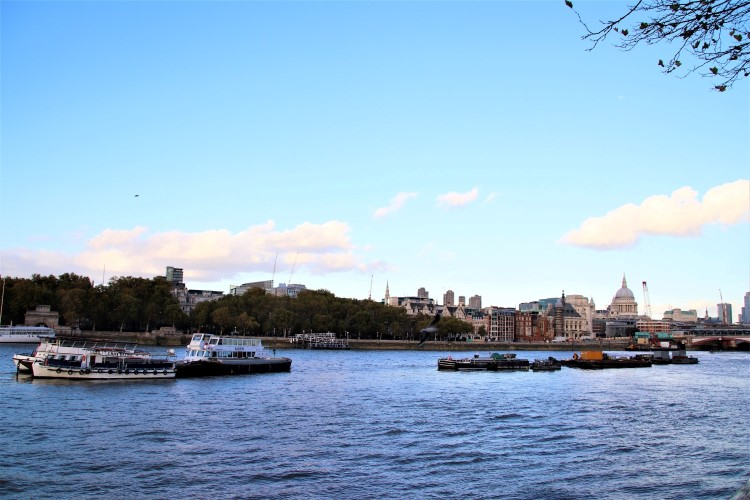 South Bank London River Thames