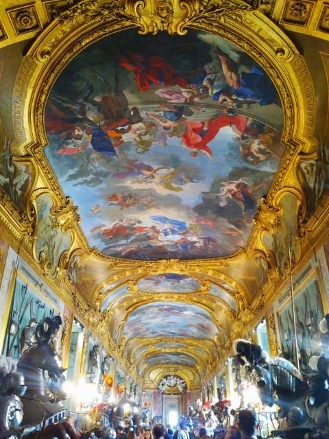 Royal Palace Palazzo Reale - painted ceilings