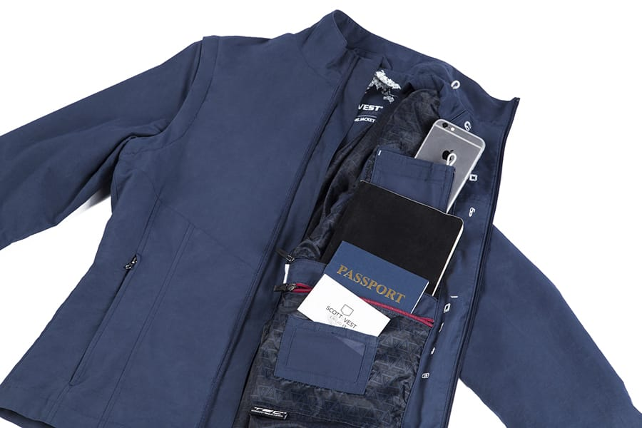 SCOTTeVEST Jacket with hidden pockets