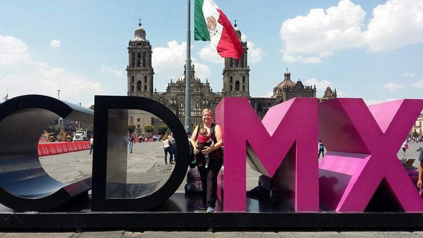 Digital nomad Sara Tyler in Mexico