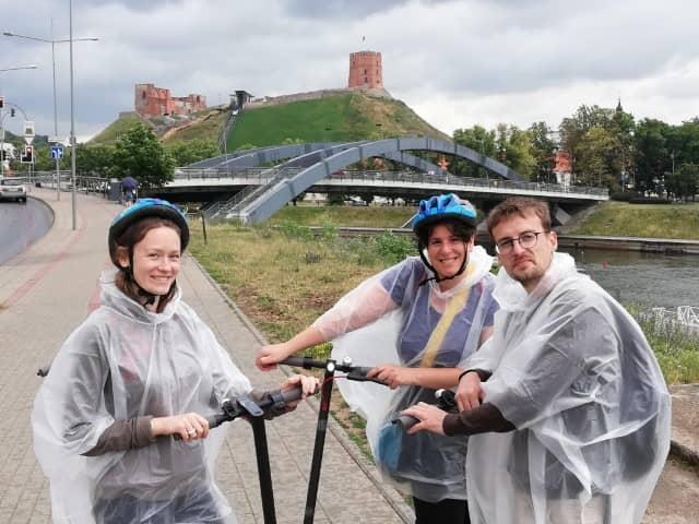 Scooter tour in Vilnius