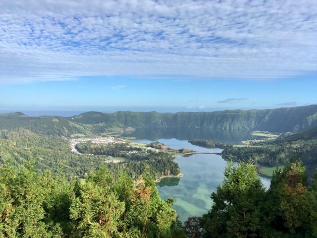 Sete Cidades in The Azores
