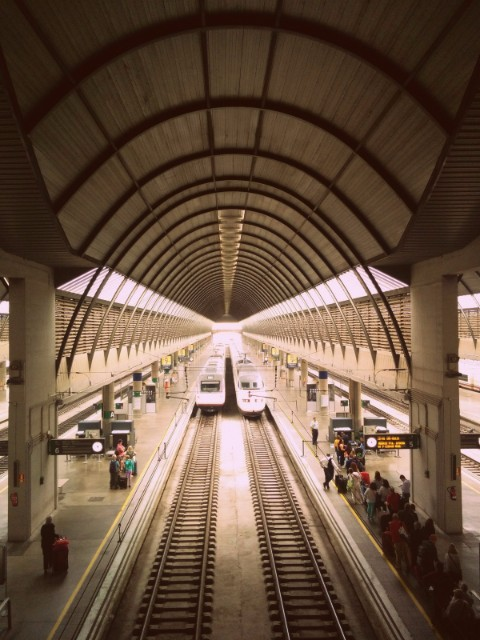Train Station Seville Spain