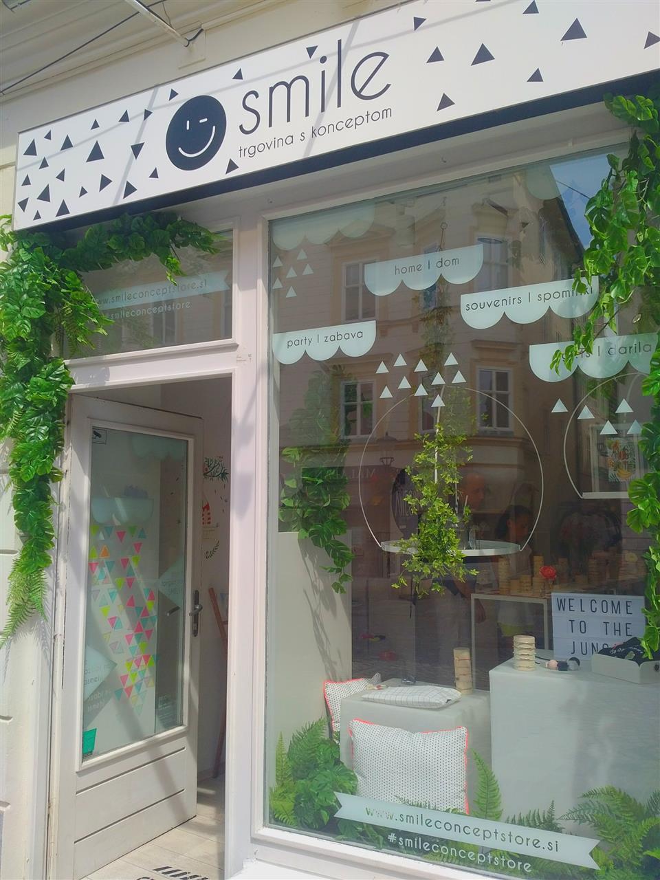 Smile Concept Store, Ljubljana