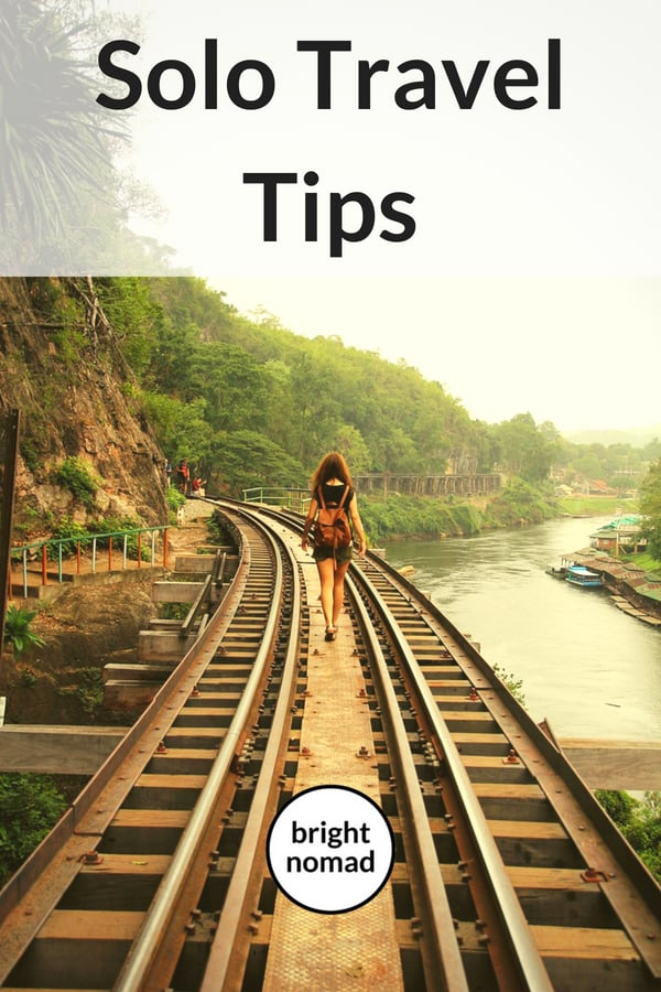 Solo travel tips - advice for solo travellers
