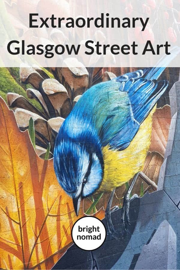 Street art in Glasgow, Scotland