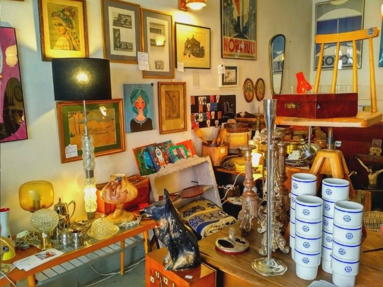 Krakow Design Szpeje Vintage Shop in Krakow