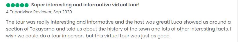 Takayama Japan virtual tours