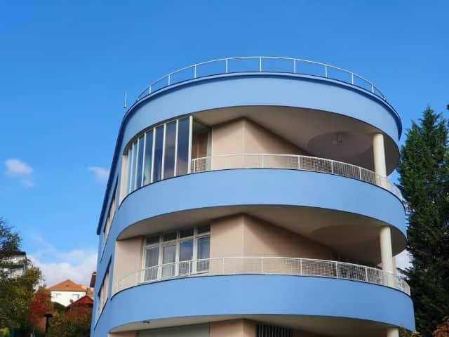 Tesař Villa - modernist architecture in Brno