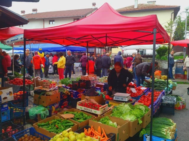 The Bansko Sunday Market