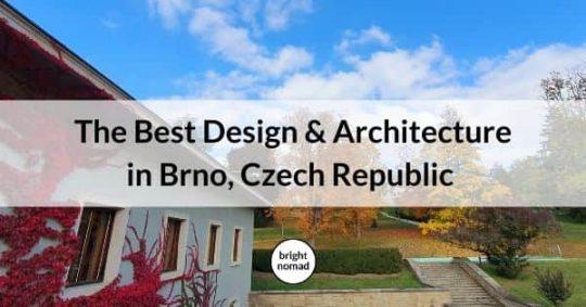 The Best Design & Architecture in Brno