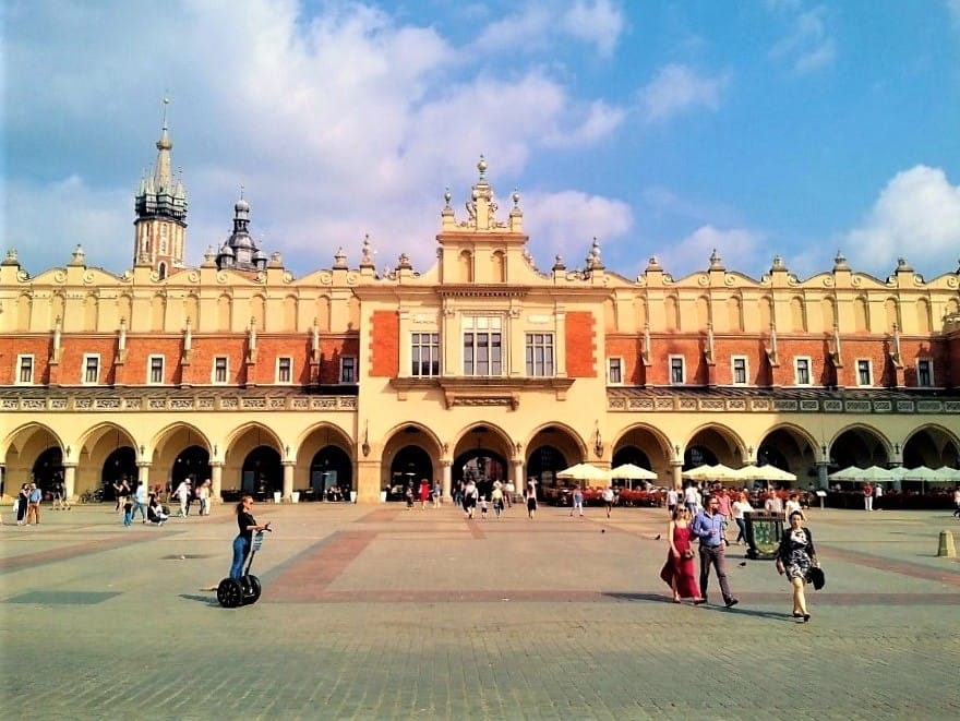 The Cloth Hall - view from the main square