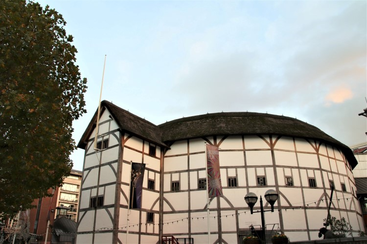 The Globe Theatre South Bank London