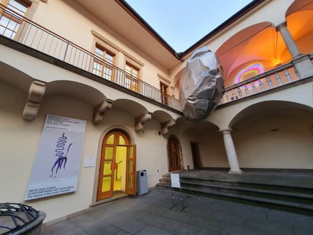 The House of Arts gallery in Brno