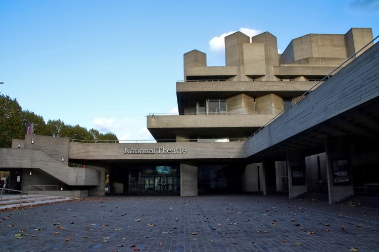 The National Theatre South Bank London