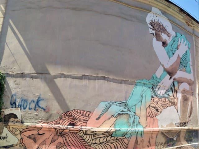 Kaunas urban art - wall painting