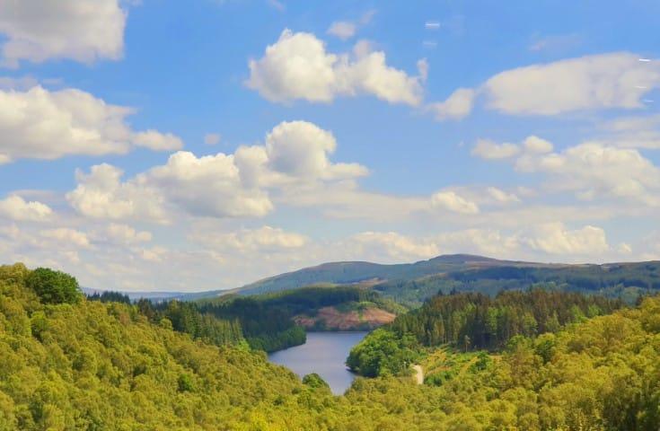 The Trossachs -  Loch Drunkie